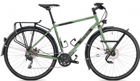 Genesis Tour de Fer 20 Adventure Bike Green 2018